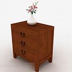 Jednoduchý dřevěný stolek