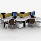 مساحة مكتب كرسي طاولة العمل