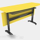 Keltainen työpöytä