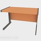 الحد الأدنى مكتب اللون البرتقالي