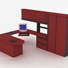 مكتب مكتب الطلاء الأحمر