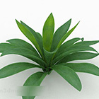 Albero della pianta dell'erba verde