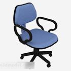 Krzesło Blue Common Office Wheels