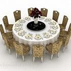 Restaurang rund matbordstol