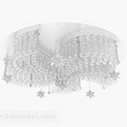 Gorgeous White Crystal Chandeliers