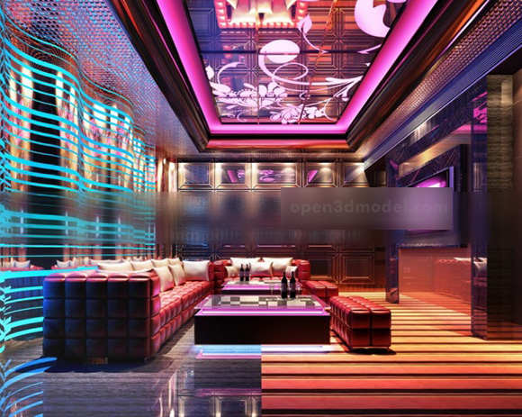Bar Club Sofa Furniture Interior