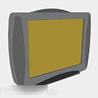 טלוויזיה בצבע אפור