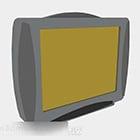 Gray Vintage Tv