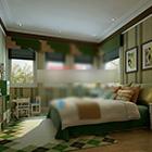 غرفة نوم الرعوية الأمريكية