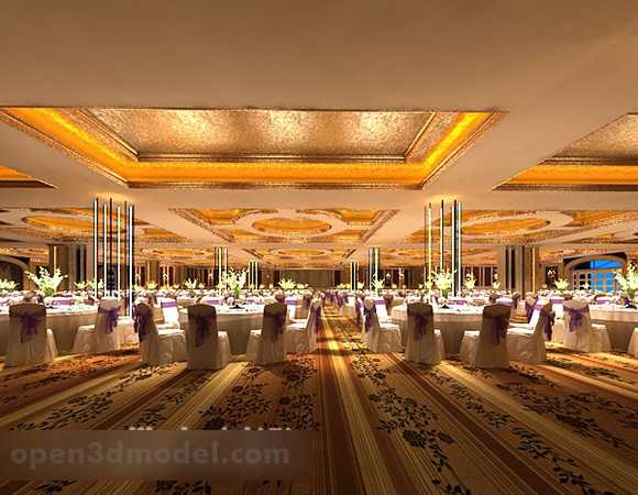 Wedding Banquet Hall Interior