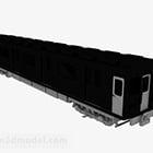 Wagon czarnego pociągu