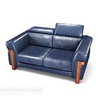 أريكة خشبية مزدوجة البيت الأزرق الأمريكي