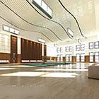 Badminton Court Interior