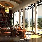 Living Room Garden View Interior