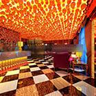 Wystrój wnętrz Bar Club sufitowy