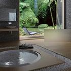 Tropical Style Bathroom Interior