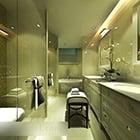 Bathroom Glass Partition Interior