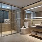 Badkamer doucheruimte interieur
