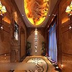 Intérieur du couloir du salon de beauté