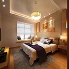 Home eenvoudig slaapkamer design interieur
