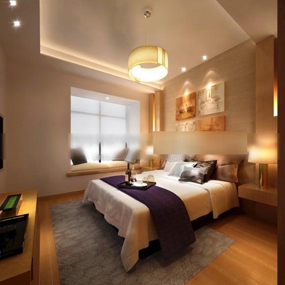 Home Simple Bedroom Design Interior