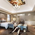 Bedroom Ceiling Painting Interior
