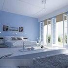 Intérieur de chambre moins coloré
