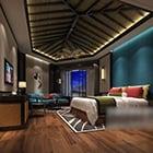 Bedroom Wooden Ceiling Decoration Interior