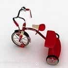 Children Red Tricycle Bike