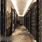 Wnętrze chińskiego korytarza