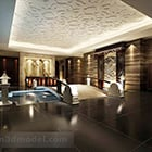 Chinese Home Hall Ceiling Decor Interior
