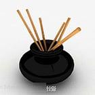 Uchwyt na pędzel w stylu chińskim