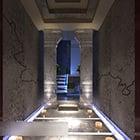 Kinesisk stil entré Hallway Interior