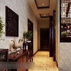 Chinese Style Entrance Passage Interior