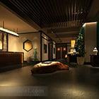 Chinese Style Hall Interior