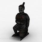 Chinese Terracotta Warrior Sculpture