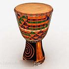 Väri afrikkalainen rumpu