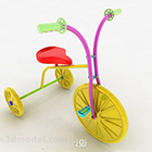 Color Children's Tricycle