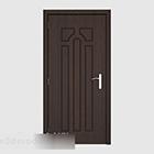 Wspólne proste drzwi pokoju