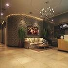 Firma Rezeption Sofa Interieur
