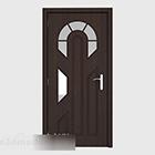 暗いホームルームのドア