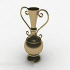 Vaso decorativo oro