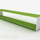 Kaksikerroksinen vihreä hylly