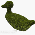 Duck Shaped Hedge Plant