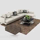 Elegant Modern Minimalist Sofa Set