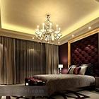 European Bedroom Ceiling Decoration Interior