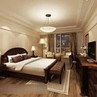 تصميم غرفة النوم الأوروبية الداخلية