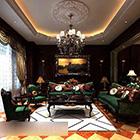 European Classical Living Room Interior