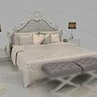 European Gorgeous Double Bed
