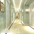 European Hotel Corridor Interior